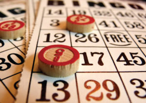 Bingo at Our Lady of Bistrica - In the Cardinal Stepinac Auditorium